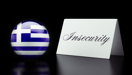 Greece High Resolution Insecurity Concept photo