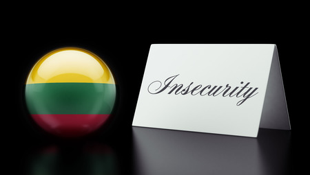 insecurity: Lithuania High Resolution Insecurity Concept