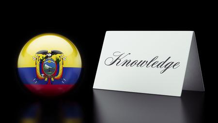 dogma: Ecuador High Resolution Sign Concept Stock Photo