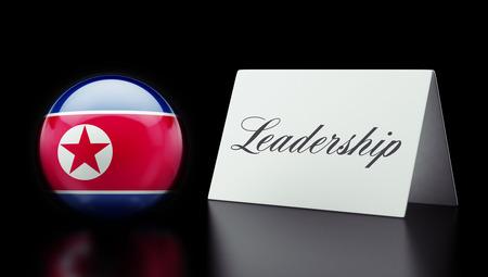 North Korea High Resolution Leadership Concept photo