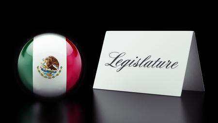 legislature: Mexico  High Resolution Legislature Concept Stock Photo