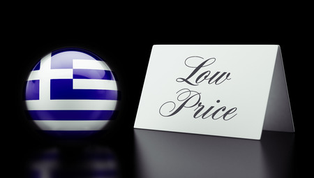 low price: Greece High Resolution Low Price Concept