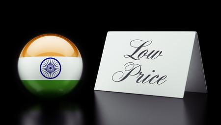 low price: India Alta risoluzione Bassa Prezzo Concetto