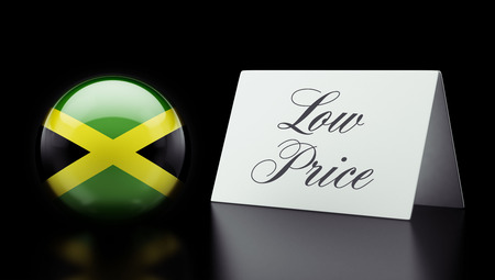 low price: Jamaica High Resolution Low Price Concept Stock Photo