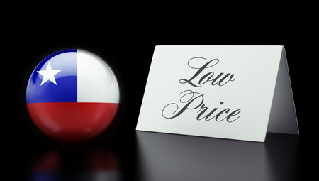 low price: Chile High Resolution Low Price Concept