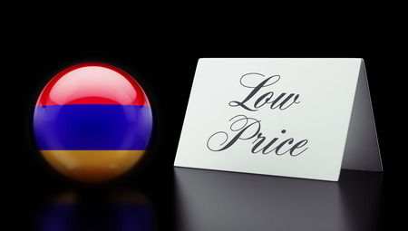low price: Armenia High Resolution Low Price Concept