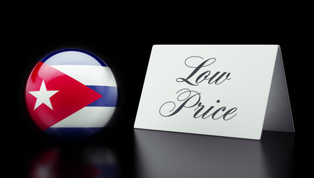 low price: Cuba High Resolution Low Price Concept