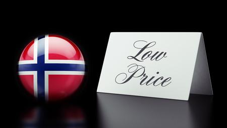 low price: Norvegia Alta risoluzione Bassa Prezzo Concetto