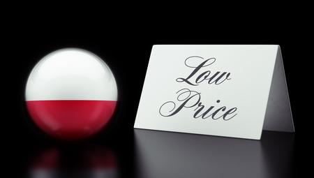 low price: Polonia Alta risoluzione Bassa Prezzo Concetto