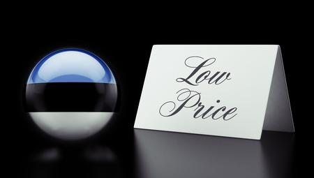 low price: Estonia Alta risoluzione Bassa Prezzo Concetto