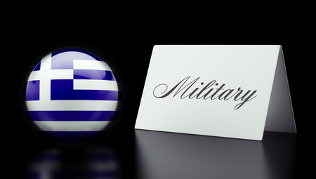 major force: Greece High Resolution Military Concept Stock Photo