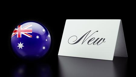 renewed: Australia High Resolution New Concept