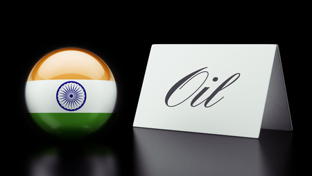 India High Resolution Oil Concept photo
