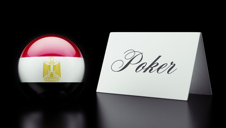 wining: Egypt High Resolution Poker Concept