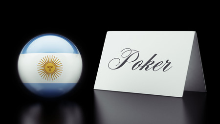 wining: Argentina High Resolution Poker Concept
