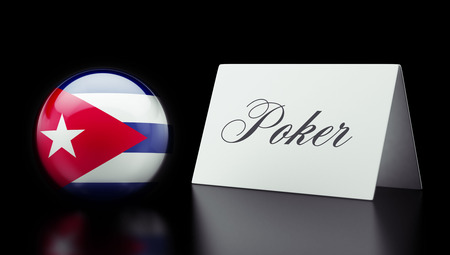 wining: Cuba High Resolution Poker Concept