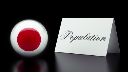 humane: Japan High Resolution Population Concept Stock Photo