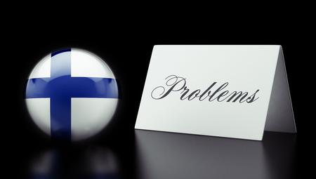 rectify: Finlandia Alta Risoluzione Problemi Concetto Archivio Fotografico