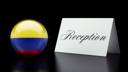 Colombia High Resolution Reception Concept photo