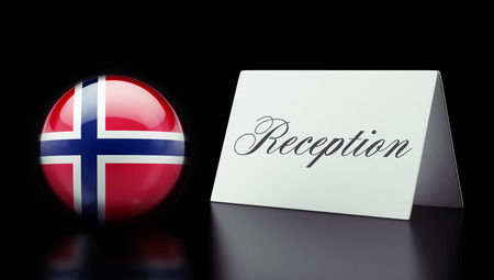 Norway High Resolution Reception Concept photo
