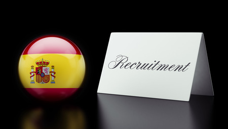 contracting: Spain High Resolution Recruitment Concept