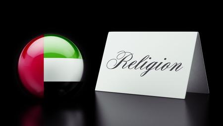 worshipper: United Arab Emirates  High Resolution Religion Concept