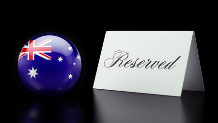 Australia High Resolution Reserved Concept photo