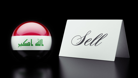 iraq money: Iraq High Resolution Sell Concept