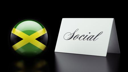 societal: Jamaica High Resolution Social Concept Stock Photo