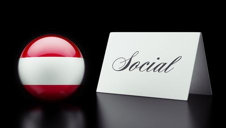 societal: Austria High Resolution Social Concept Stock Photo