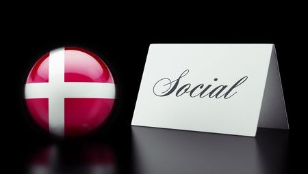 societal: Denmark High Resolution Social Concept