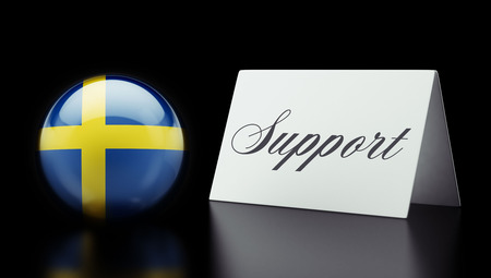Sweden High Resolution Support Concept photo