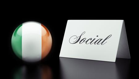 societal: Ireland High Resolution Social Concept Stock Photo