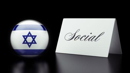 societal: Israel High Resolution Social Concept