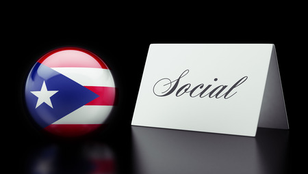 societal: Puerto Rico High Resolution Social Concept