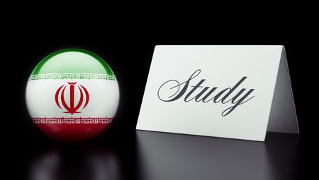 study concept: Iran High Resolution Study Concept Stock Photo