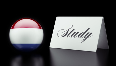 study concept: Netherlands High Resolution Study Concept Stock Photo