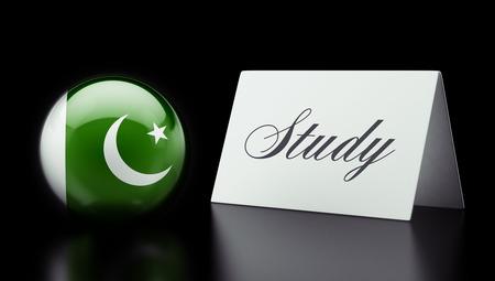 study concept: Pakistan High Resolution Study Concept Stock Photo
