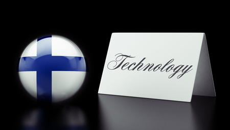 Finland High Resolution Technology Concept photo