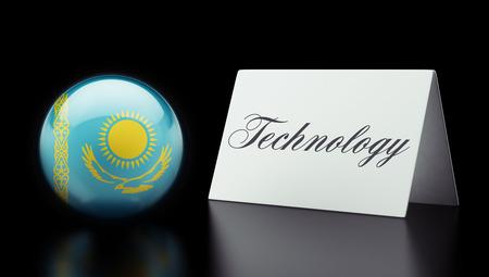 kazakhstan: Kazakhstan High Resolution Technology Concept Stock Photo