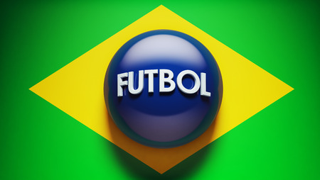 futbol: Futbol High Resolution Concept Flag