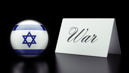 controversy: Israel High Resolution War Concept
