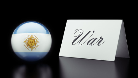 controversy: Argentina High Resolution War Concept