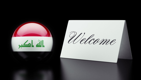 appreciated: Iraq High Resolution Welcome Concept