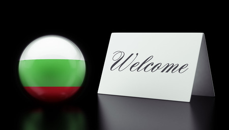 Bulgaria High Resolution Welcome Concept