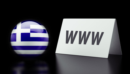 Greece High Resolution www Concept Stock Photo