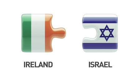 Israel Ireland High Resolution Puzzle Concept photo