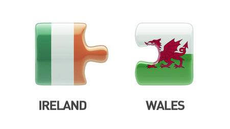 Wales Ireland High Resolution Puzzle Concept photo