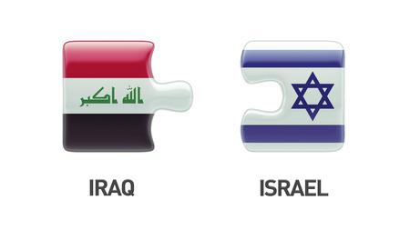 Israel Iraq High Resolution Puzzle Concept photo