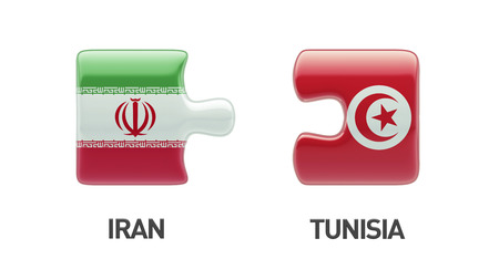 tunisie: Tunisia Iran High Resolution Puzzle Concept
